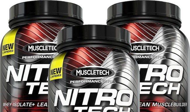 muscletech nitrotech performance series whey protein tozu inceleme ve yorum