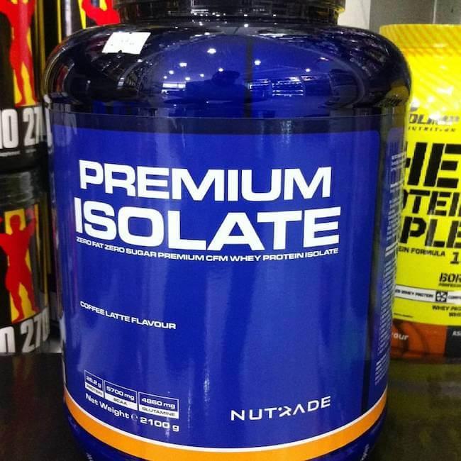 nutrade premium isolate protein