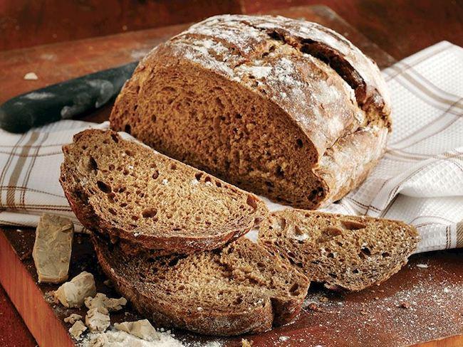 protein içeren buğday tam buğday ekmeği