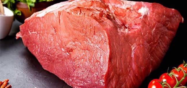 protein içeren gıdasız sığır eti