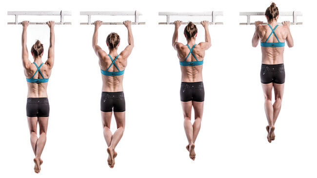 pull up vücut geliştirme hareketi